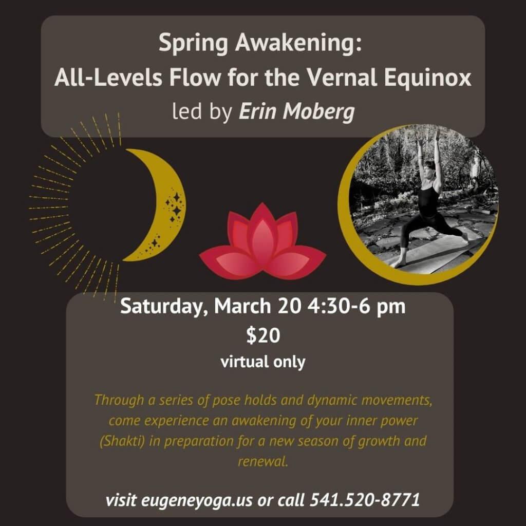 Spring Awakening: All-Levels Flow for the Vernal Equinox