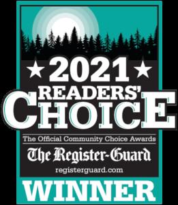 2021 Readers' Choice Award Winner from The Register-Guard